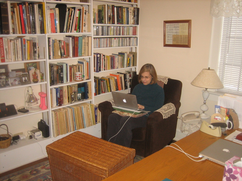 Creative Spaces guest post by Barbara Froman