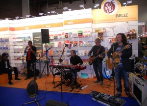 music at Frankfurt book fair