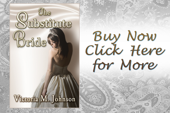 the-substitute bride by Victoria M. Johnson