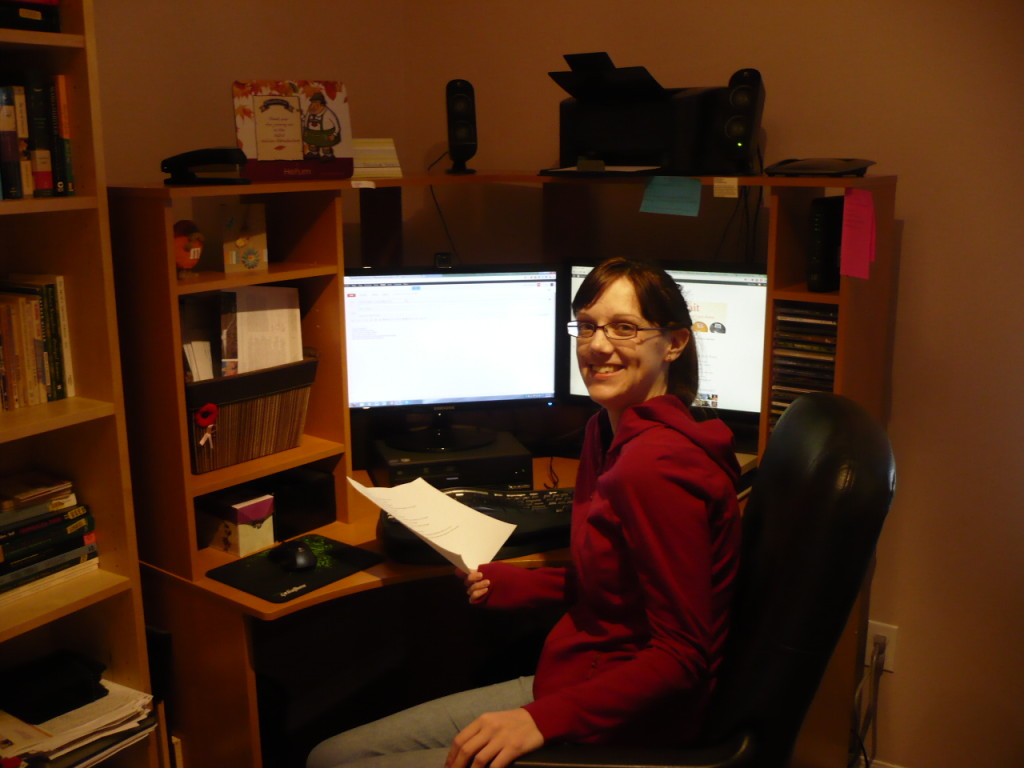 Creative Spaces -- Guest Post by Christy Birmingham