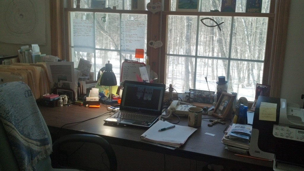 Creative Spaces -- Guest Post by Kathleen Pooler