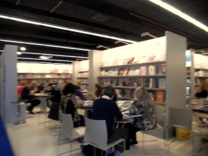 Frankfurt Book Fair pitching