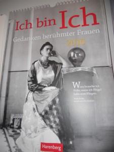Frida Kahlo calendar