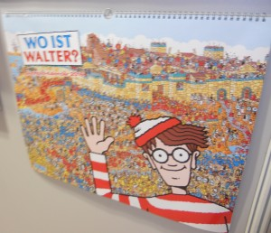 Where's Waldo German calendar