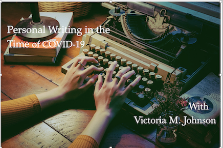 Writing class by Victoria M. Johnson